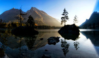 Hintersee Sunset