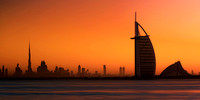 Burj al Arab at Sunrise