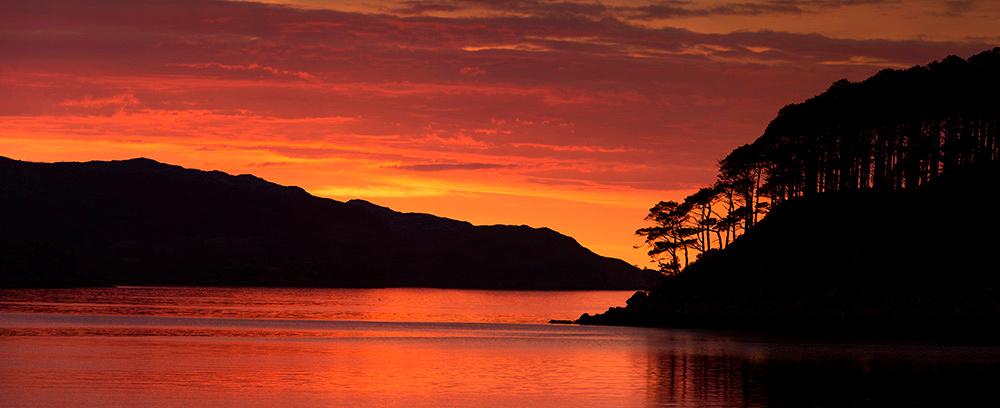 Shieldaig Sunset